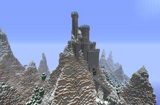 Related Minecraft Castle Mountain Top House Car