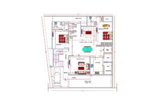 Residential Bungalow Plans Elevation Section Joy Studio Design