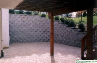 Residential Commercial Retaining Walls Patio