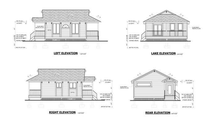Resort Cottage Plans Floor Plan Sale Ontario