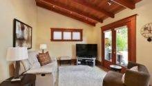 Room Features Vaulted Beamed Ceiling Opens Deck