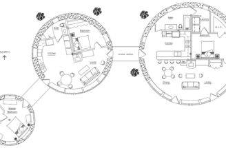 Roundhouse Earthbag House Plans