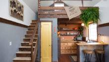 Rustic Modern Tiny House Portland Oregon Built Cozy Home