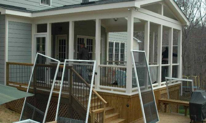 Screen Porch Plans Home Decoration Ideas