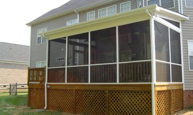 Screen Porches Porch Screened