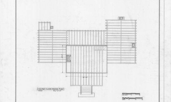 Second Floor Framing Plan Hasell Nash House Hillsborough North