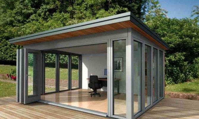Shedworking Glass Garden Office