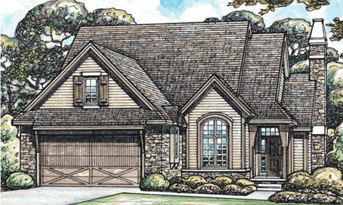 Sherwood Trail Tudor Style Home Plan House Plans More