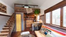 Shoebox Tour Hand Crafted Rustic Tiny House Portland Oregon