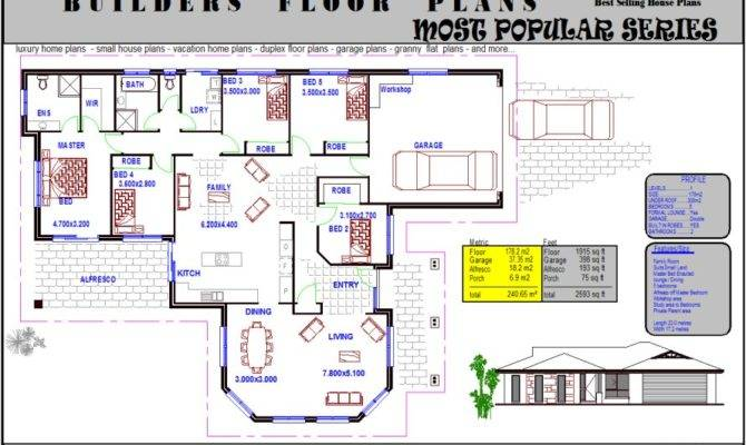 Simple Bedroom House Plans Australianfloorplans