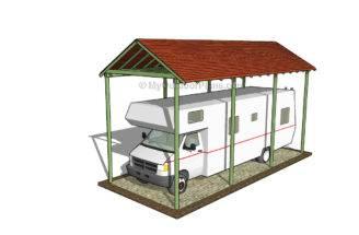 Simple Carport Plans Car