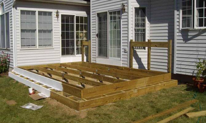 Simple Deck Plans Floating