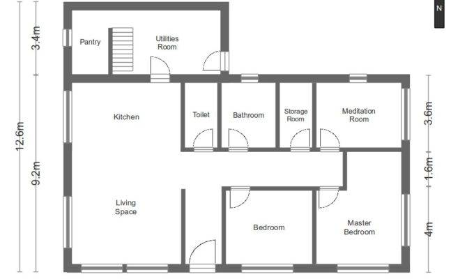 Blueprints With Measurements,With.Home Plans Ideas Picture
