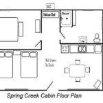 Simple Log Cabin Floor Plans Design
