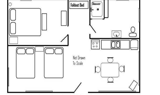 Simple Log Cabin Floor Plans Design
