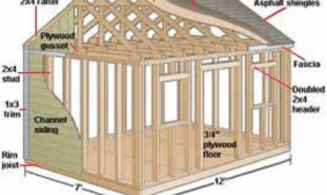 Simple Shed Plans Building Your Own Outdoor Sheds Diy