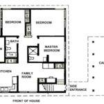 Simple Two Bedrooms House Plans Small Home Luxury
