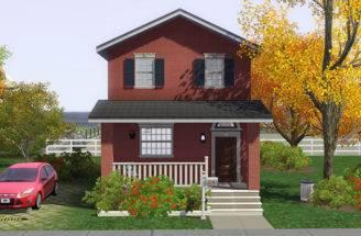 Sims Blog Brick House Noel