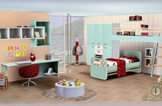 Sims Blog Little Wonders Bedroom Set Simcredible Designs