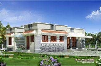 Single Floor Budget Home Design Feet Kerala