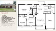 Single Floorplans Unique House Plans