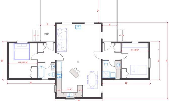 Single Level Open Floor Plan Quotes
