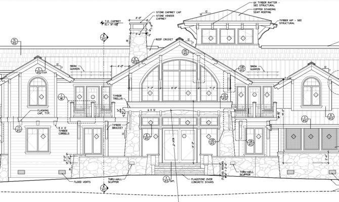 Sketches Reality Designing Waterfront Home Priest Lake