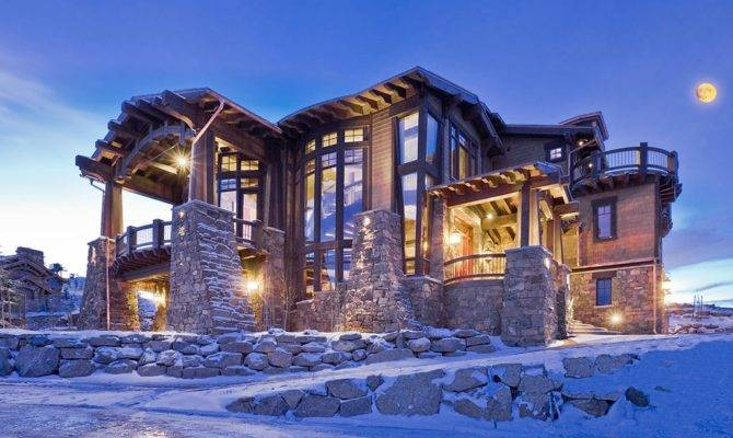 Ski Dream Home Luxury Mountain Retreat Utah Most Beautiful Houses