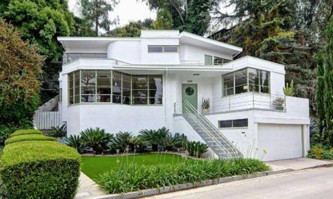 Skinner Streamline Moderne House Art Deco Nouveau Pinterest