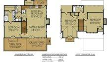 Small Bungalow Cottage Floor Plan Wanna Build House