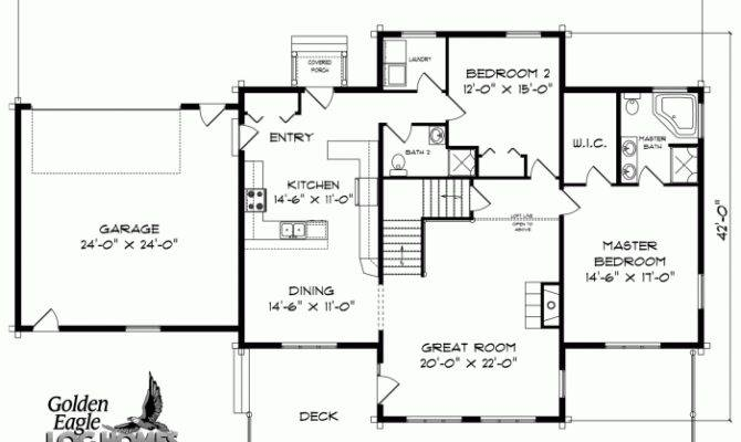 Small Cabin Floor Plans Source More Log Plan