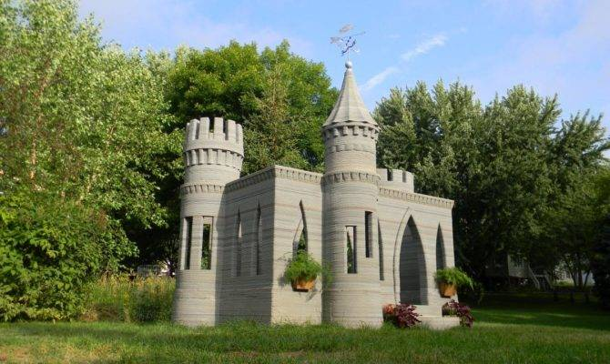 Small Castle House Plans Mini Conwy