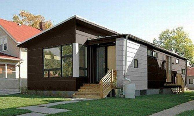 Small Contemporary Prefab Home Hive Modular Owner Builder