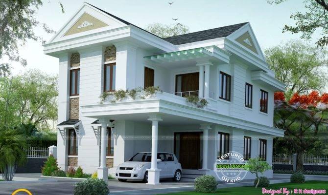 Small Double Floor Dream Home Design Kerala