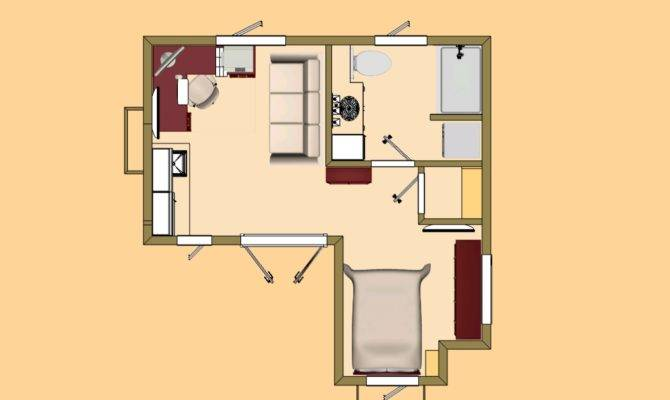 Small House Capitan Studio Floor Plan