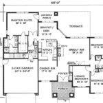 Small House Floor Plan Elegantly Simple