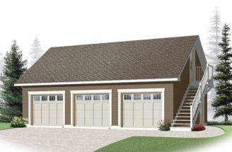 Small House Plans Detached Garage Owingslawrenceville