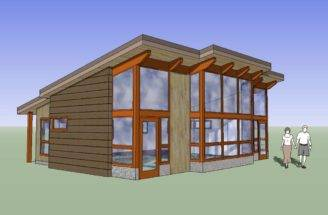 Small House Plans Under Well Cabin Frame Kit