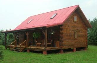 Small Log Home Loft Cabin House Plans