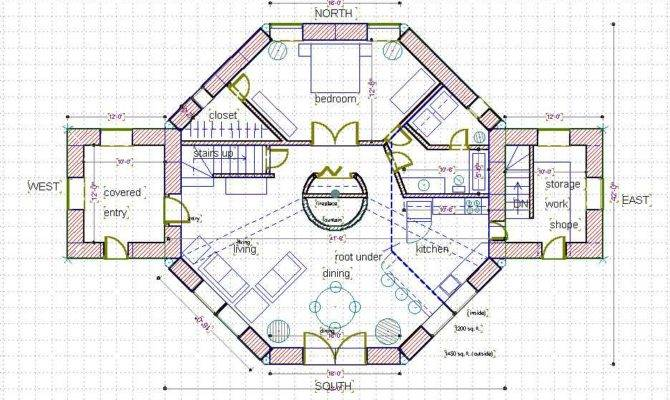 Octagon House Plans octagon house plans at coolhouseplanscom file:watertown octagon
