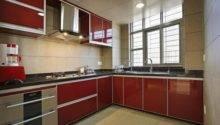 Small Open Kitchen Minimalist