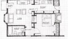 Small Scale Homes Floor Plans Garage Apartment Conversion
