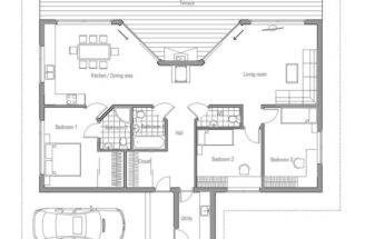 Small Simple House Plan Pole Barn Plans Pinterest