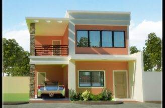 Small Two Story House Plans Architecture Storey Designs