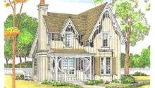 Small Victorian Country Cottage House Plans