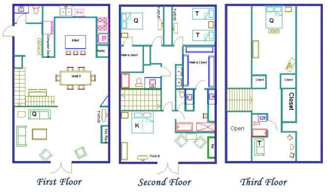 Small Walk Closet Floor Plans Closets Design
