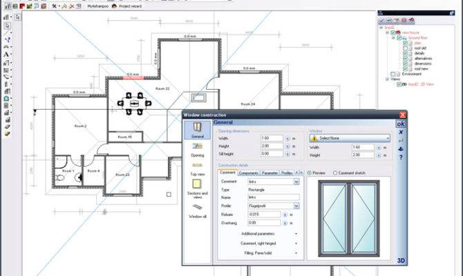 Software Drawing Floor Plans
