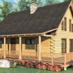 Cabin Kit Bedroom Schutt Log Homes Mill Works - Home Plans ...