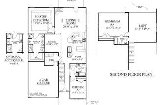 Southern Heritage Home Designs House Plan Englewood