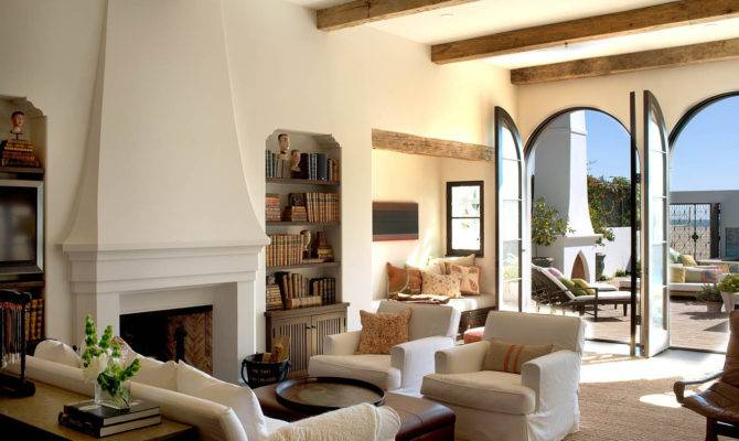 Spanish Colonial Beach House Santa Monica Idesignarch Interior